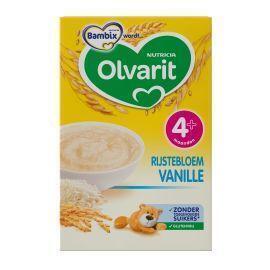 Olvarit Rijstebloem Vanille 4+ Maanden 200 g (200g)