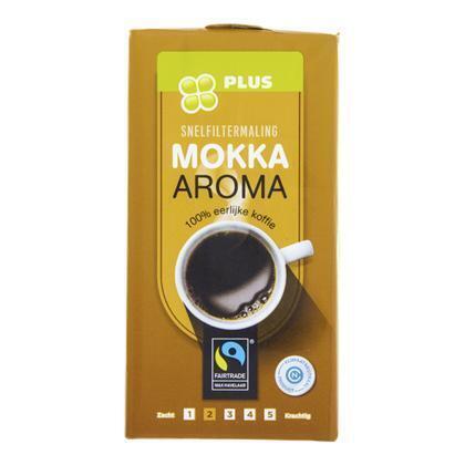 Koffie Snelfilter Mokka Fairtrade (250g)