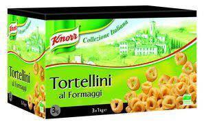 Knorr Collezione Italiana Tortellini Al Formaggio (3 × 3kg)