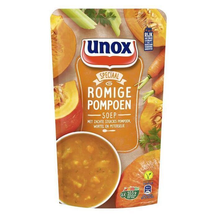 Unox Soep in Zak Pompoensoep 570ml (0.57L)