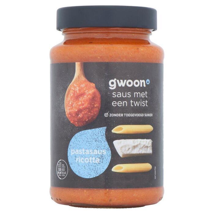 g'woon Pastasaus ricotta (490g)