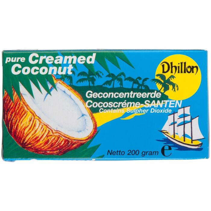 Dhillon Geconcentreerde Cocoscréme-Santen 200g (200g)