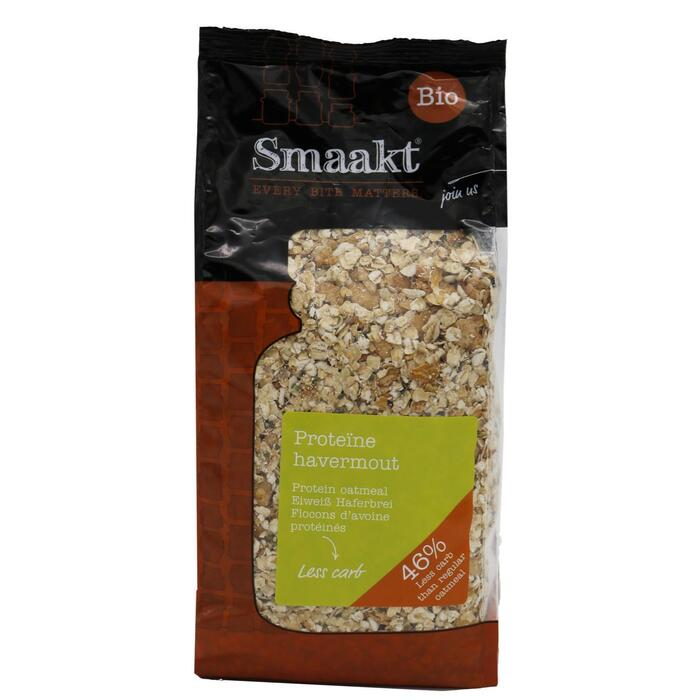 Smaakt Low carb havermout bio (500g)