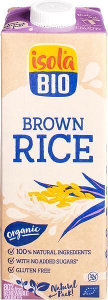 Rijstdrink just brown rice (tetra) (1L)