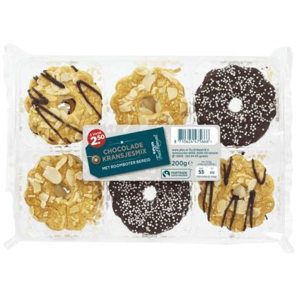 Chocoladekransmix fairtrade (blister, 200g)