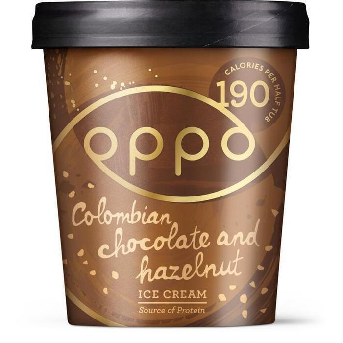 Oppo Ice Cream Colombian chocolate & hazelnoot (47.5cl)