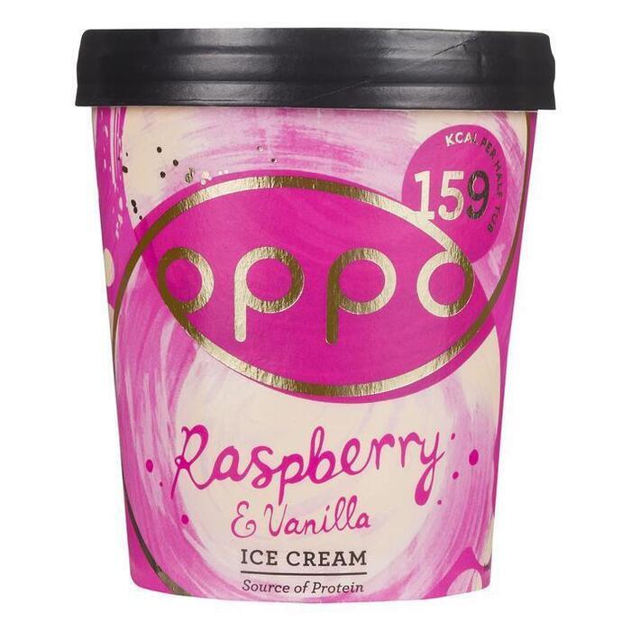 Oppo Raspberry & vanilla ice cream (47.5cl)