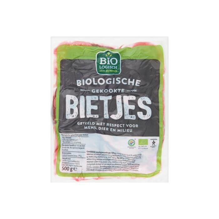 Jumbo Biologische Gekookte Bietjes 500g (500g)