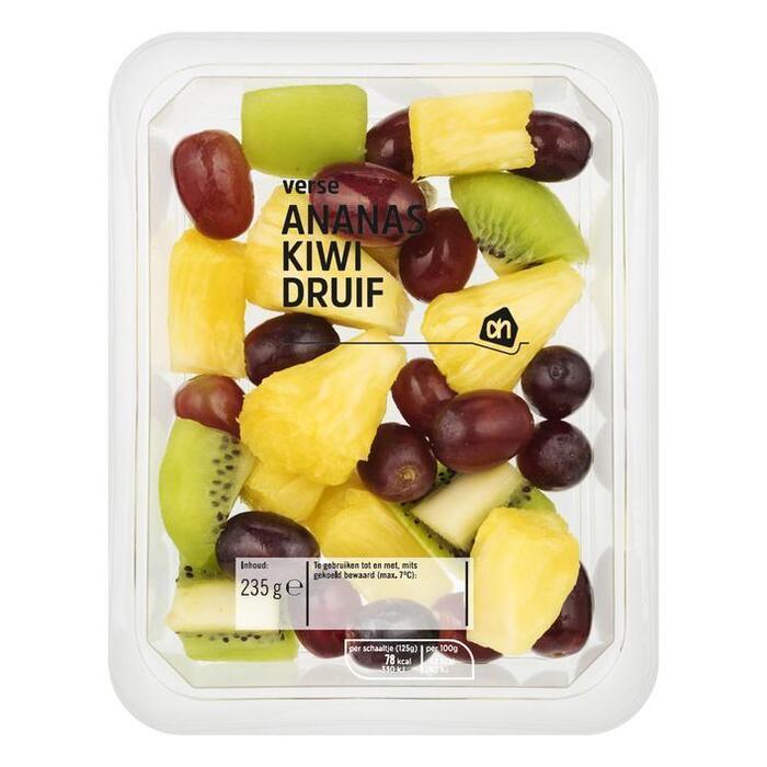 Verse en friszoete Fruitmix met kiwi (bakje, 235g)