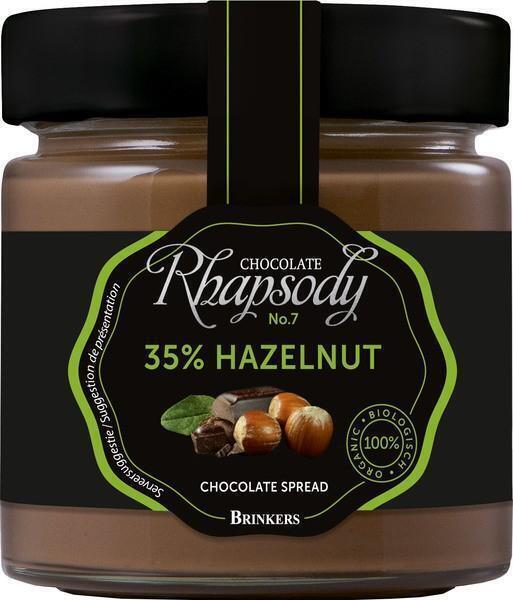 Chocopasta 35% hazelnoot (pot, 200g)
