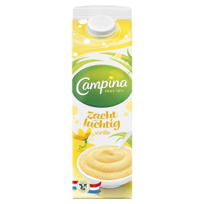 Zacht & luchtig vanille (pak, 1L)
