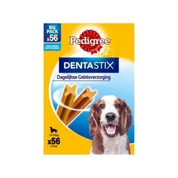 Pedigree Dentastix Dagelijkse Gebitsverzorging Big Pack 56 Stuks 1440 g (1.44kg)