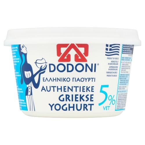 Dodoni Authentieke Griekse Yoghurt 5% Vet 500 g (500g)