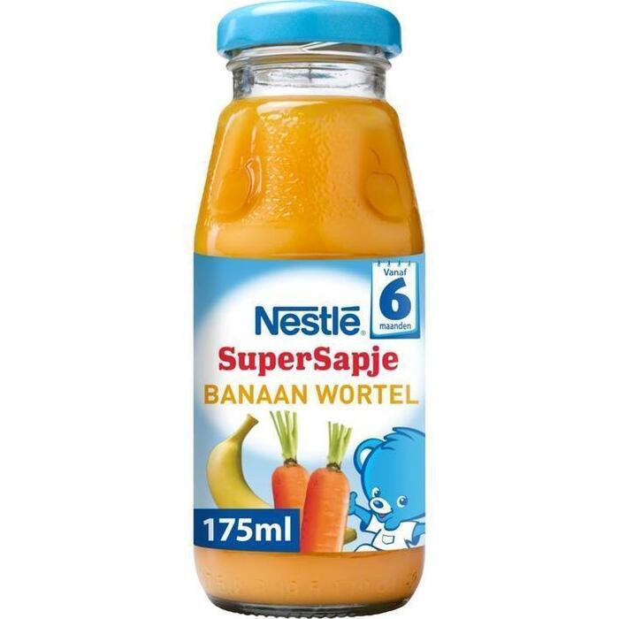 Supersapje Banaan-Wortel 6 mnd (Stuk, 175ml)