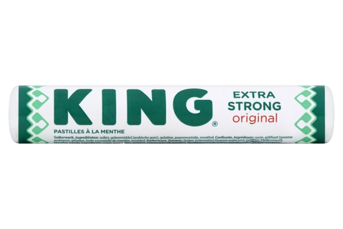 King Pepermunt extra strong (44g)