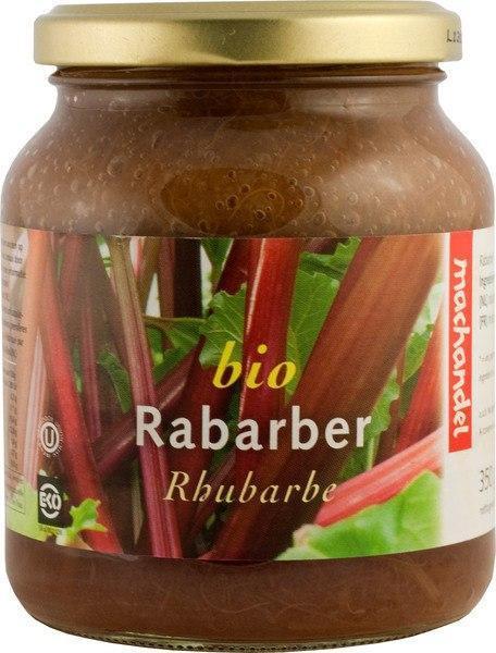 Bio Rabarber (pot, 350g)