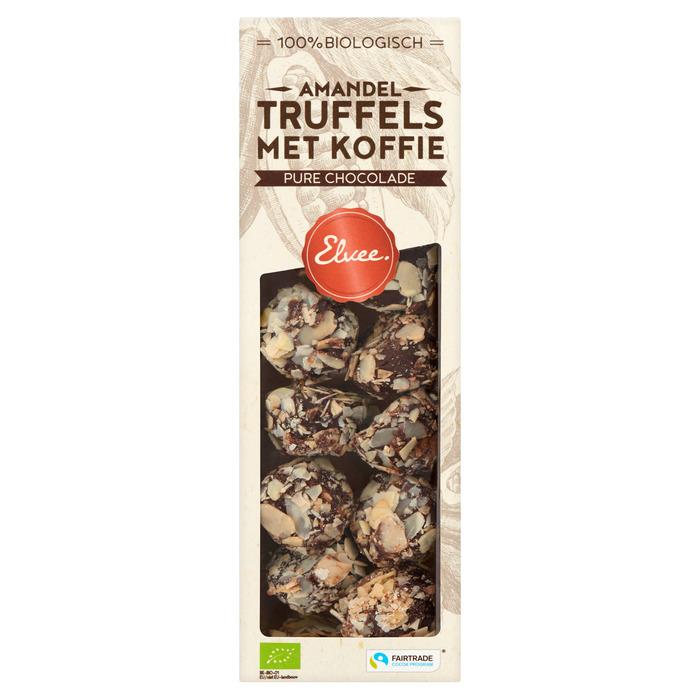 Amandel truffels koffie bio / ft (140g)