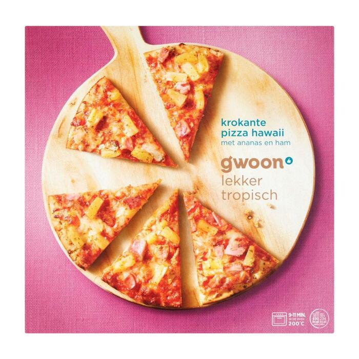 g'woon Krokante pizza hawaii (355g)