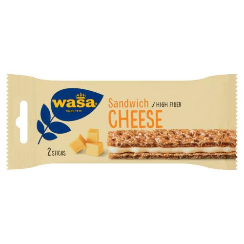 Wasa Sandwich Cheese 31 g (2 × 31g)