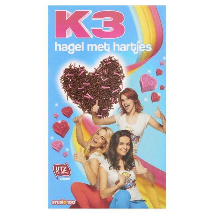 K3 Hagel met Hartjes 200 g (200g)