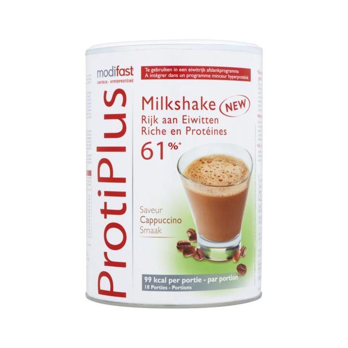 ProtiPlus Milkshake Cappuccino Smaak (blik, 540g)