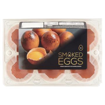 Gerookte Eieren 6 Stuks
