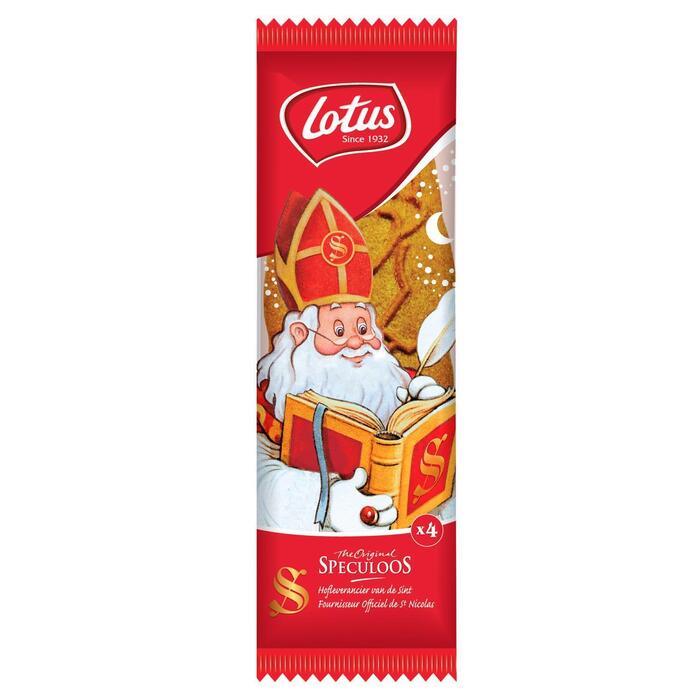 Speculoos Sinterklaas (4 × 85g)