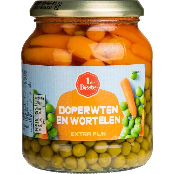 Doperwten met wortelen zeer fijn (370g)
