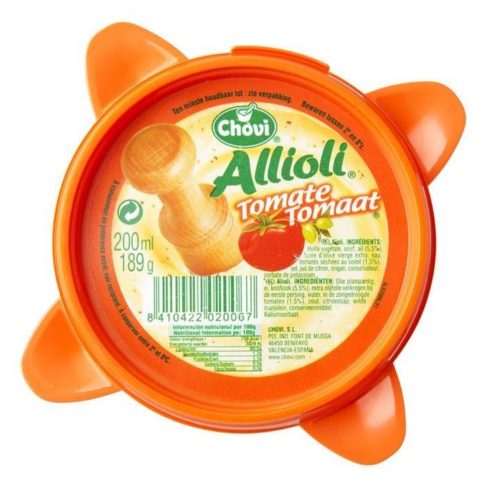 Allioli Tomaat (200ml)