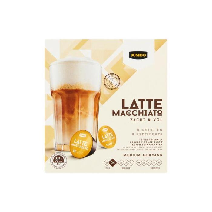 Jumbo Latte Macchiato Zacht & Vol 180 g (180g)