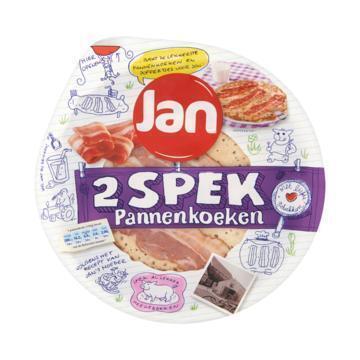 Pannenkoeken met spek 2 stuks (240g)