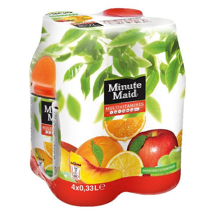Minute Maid Multivitamines PET 0.33L 1x4 (4 × 33cl)