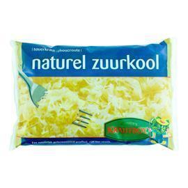 Krautboy, Naturel zuurkool (zak 520g) (Stuk, 500g)