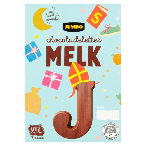 Jumbo Melkchocolade Letter J 65 g (65g)
