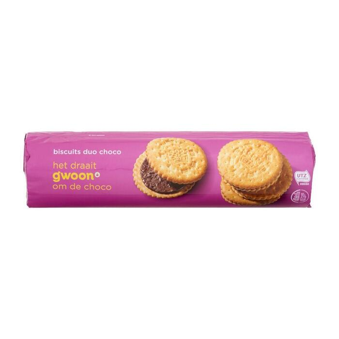 G'woon Fourre duo chocolade (500g)