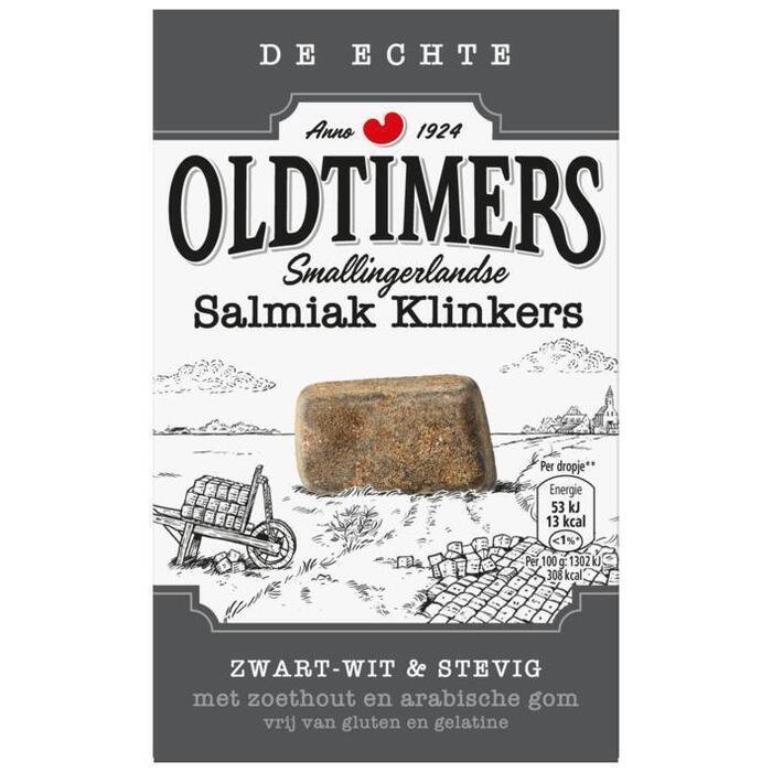 Oldtimers Salmiak klinkers (235g)