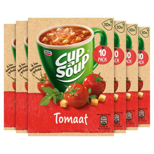 Unox Cup-A-Soup Tomatensoep 6 x 10 Stuks (18g)