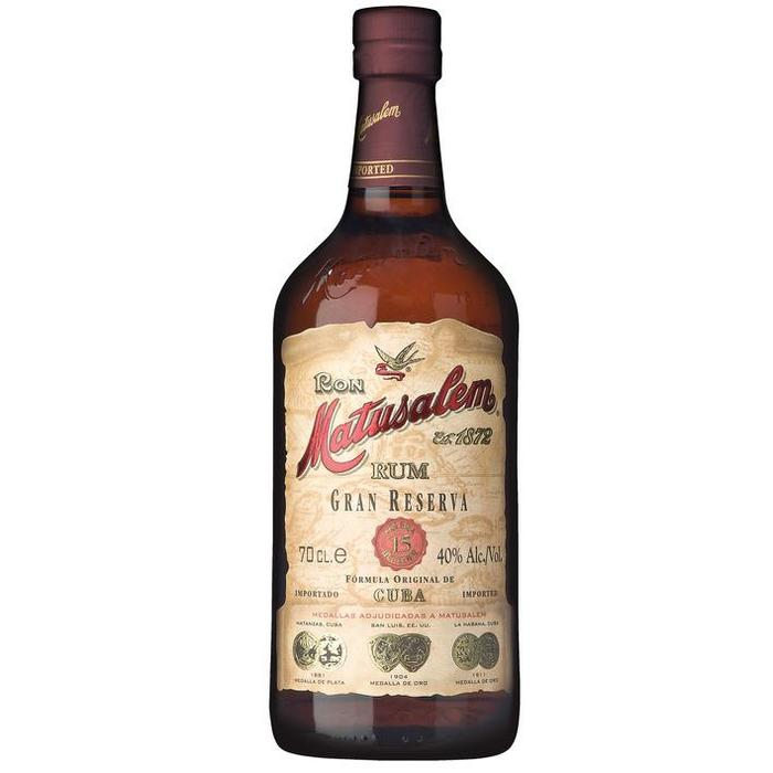 Matusalem Rum gran reserva (rol, 70 × 0.7L)