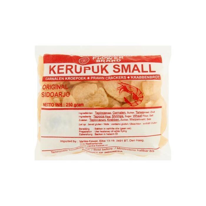 Flower Brand Ongebakken Kroepoek Kerupuk Small 250g (250g)
