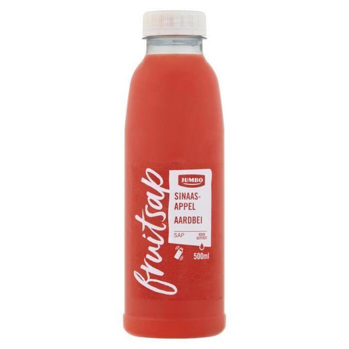 Jumbo Fruitsap Sinaasappelsap Aardbei 500ml (0.5L)
