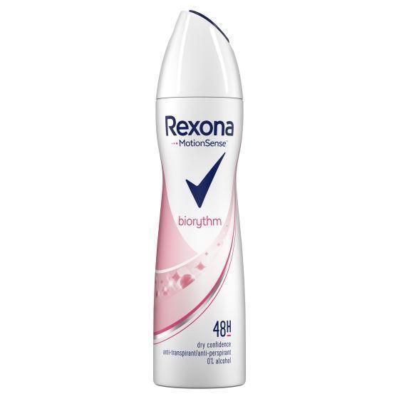 Rexona Deodorant spray women ultra dry biorythm (150ml)