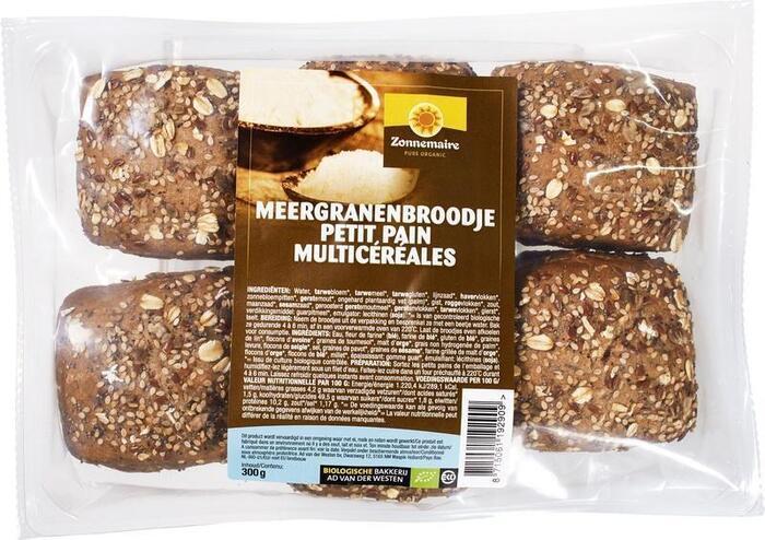 Meergranenbroodjes (zak, 6 stuks) (6 × 300g)