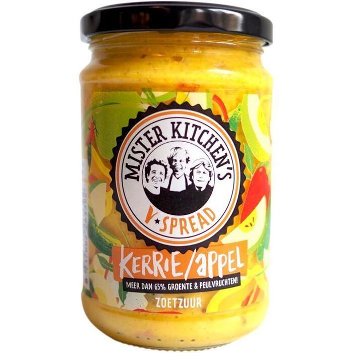 Mister Kitchen's V-Spread kerrie appel (270g)