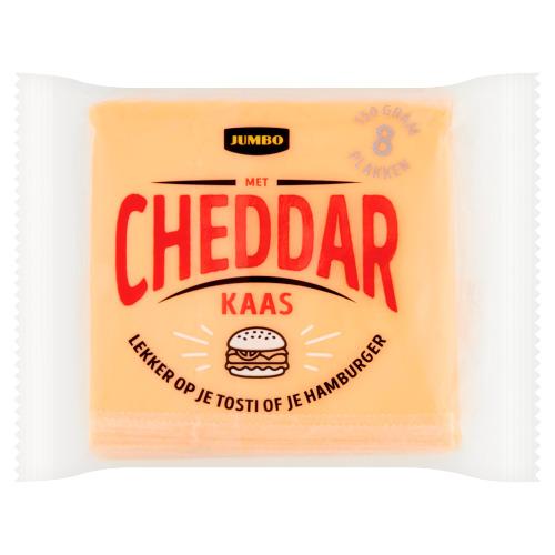 Jumbo Kaas met Cheddar 8 Plakken 150 g (150g)
