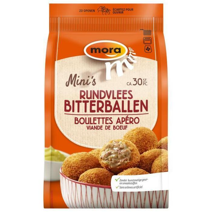 Bitterballen rundvlees 30 stuks (30 × 600g)