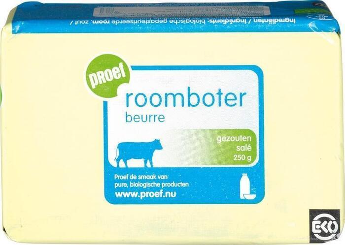 Roomboter gezouten (250g)