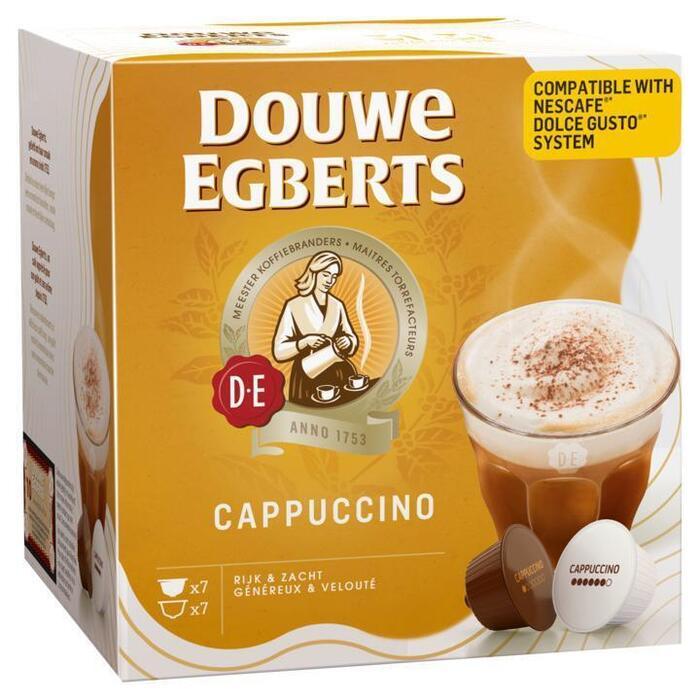 Douwe Egberts Capsules cappuccino (14 × 168g)