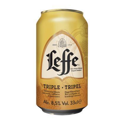Leffe Tripel (rol, 33 × 33cl)