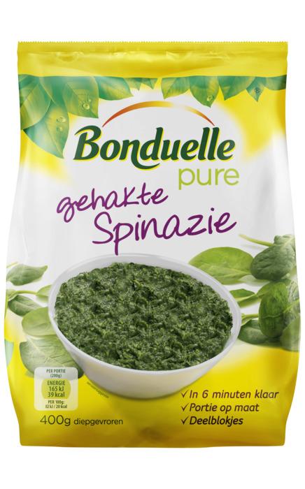 Gehakte Spinazie (zak, 400g)