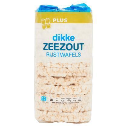 Rijstwafel zeezout dik (120g)